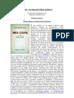 """""""Louis-Ferdinand Céline político"""" por Nicolás González Varela"""