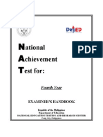 NAT Examiner's Handbook Year 4 2014