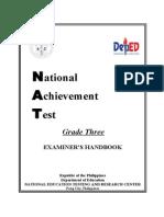 NAT Examiner's Handbook Grade 3 2014