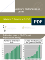 Nikolas Polyzos - Meta-Analysis - II Simposio Reproducción Asistida Quirón