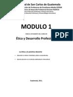 Módulo 1 Ética y desarrollo profesional