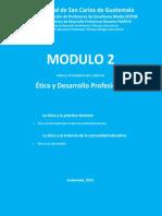 Módulo 2 Ética y desarrollo profesional