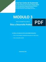 Módulo 3 Ética y desarrollo profesional