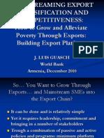 Armenia Export 10 Competitiveness