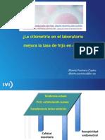 Alberto Pacheco - La Citometría en el laboratorio mejora la tasa de hijo en casa - II Simposio Reproducción Asistida Quirón