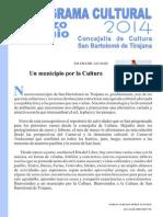 Programa Cultura [Marzo-Junio 2014]
