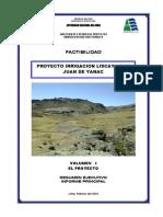 Irrigacion Liscay SanJuandeYanac SeccionAfianzHidrico