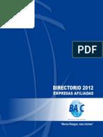 Directorio Basc 2012