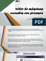 Servidor de máquinas virtuales con Proxmox