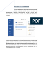 Almacenar, Exportar y Compartir documentos en Word 2013
