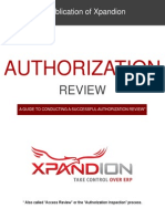 Authorization Review eBook