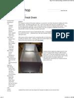 Heat Treat Oven - MikesCNCShop