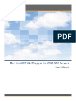 MatrikonOPC UA Wrapper for COM OPC Servers User Manual