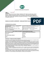 BPM - Vincolo in CC – 30/01/2013