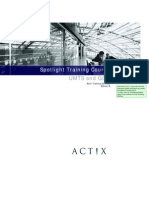 Actix Spotlight Training Manual