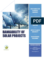 Bankability of Solar Pv Projects v1
