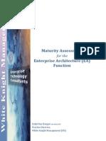 Enterprise Architecture Maturity Assessment 10
