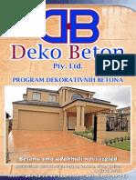 Deko Beton Katalog