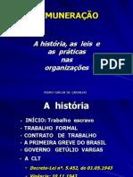 A REMUNERAÇÃO - história e práticas.2012