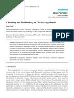 Chemistry and Biochemistry of Dietary Polyphenols
