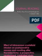 Journal Reading Bedah