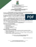 Edital - Enzimologia e Biofísica 2014