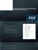 Algorithm Design, Execution Time Calculations & Code Development for 2013 _asu Racing-Formula Student_ Ecu Code