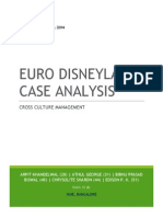 Euro Disneyland case study