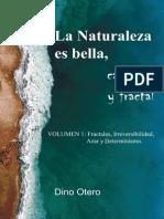 La Naturaleza Es Bella Caotica y Fractal - Volumen 1 Fractales Irreversibilidad Azar y Determinismo