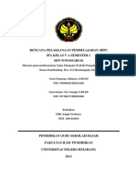 RPP IPA Kelas 5 Semester 1 Penyesuaian Diri Hewan Terhadap Lingkungannya