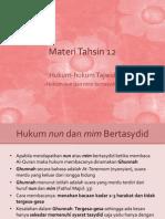Materi Tahsin 12