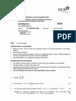 4724 Winter 06 Question Paper