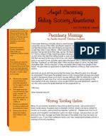 Newsletter- 09 Oct