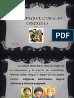 Diversidad Cultural en Venezuela