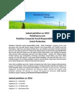 Pelatihan Corporate Social Responbility (CSR) Perbankan