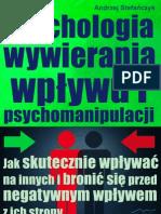 Psychologia Wywieranie Wplywu NLP NLS, Manipulacja Perswazja