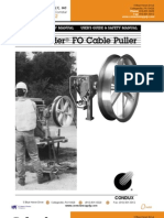Condux Fiber Optic Cable Puller