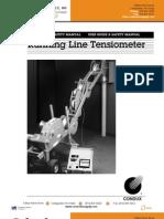 Running Line Tensiometer
