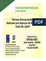 Normas Internacionales y Mercado Senasa Argentina