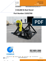 RS20 20,000lb Reel Stand
