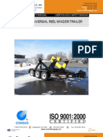 URW24 Universal Reel Winder Trailer