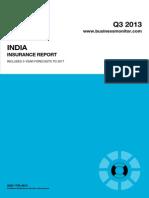 BMI India Insurance Report Q3 2013