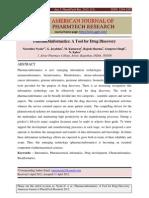 Pharmacoinformatics