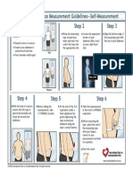 Waist Circumference Measurement Guidelines