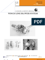 Winch Line Blower System