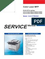 Samsung Clx-3170 n Fn Fw Clx-3175 Clx-3175n Xaz Sm