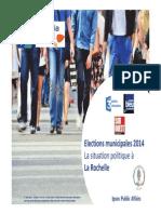 Enquete Ipsos pour les élections municipales à La Rochelle