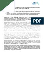 """AgroBIO México y CamBioTec presentaron el libro  """"Introducción al ambiente del maíz transgénico. Análisis de ocho casos en Iberoamérica"""""""