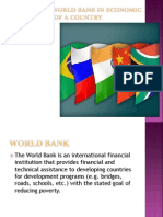 Role of Imf & World Bank in Economic Final (1)