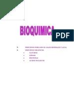 Bioquimica Selectividad